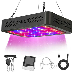 Amico 1200W UV&IR  Full Spectrum LED Grow Light