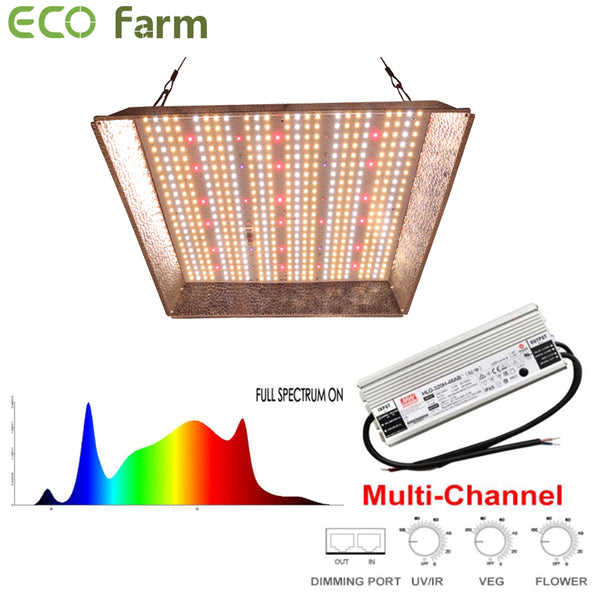 ECO Farm G3 LM561C 100W/240W/330W Quantum Board with UV IR and 3 Dimmers
