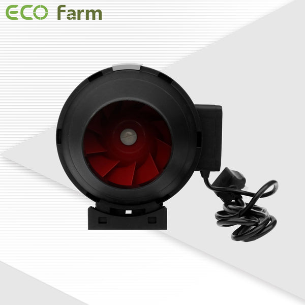"ECO Farm 4"" /6""/8 ""/10 "" in-line Fan Exhaust and Intake Fan for Grow Room-growpackage.com"