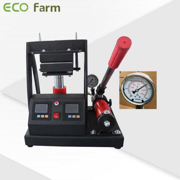 Eco Farm Hydraulic Manual Dual Heating Rosin Press Machine