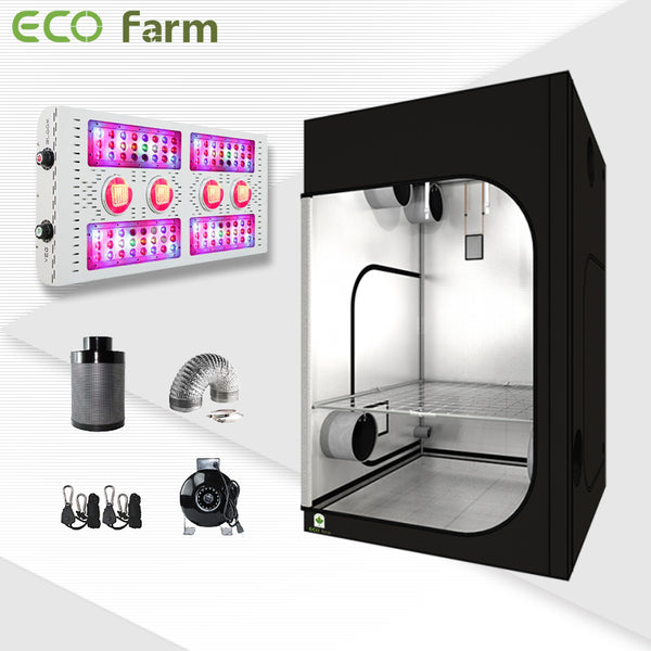 Eco Farm 5'*5' Essential 880W LED Grow Package for 6 Plants