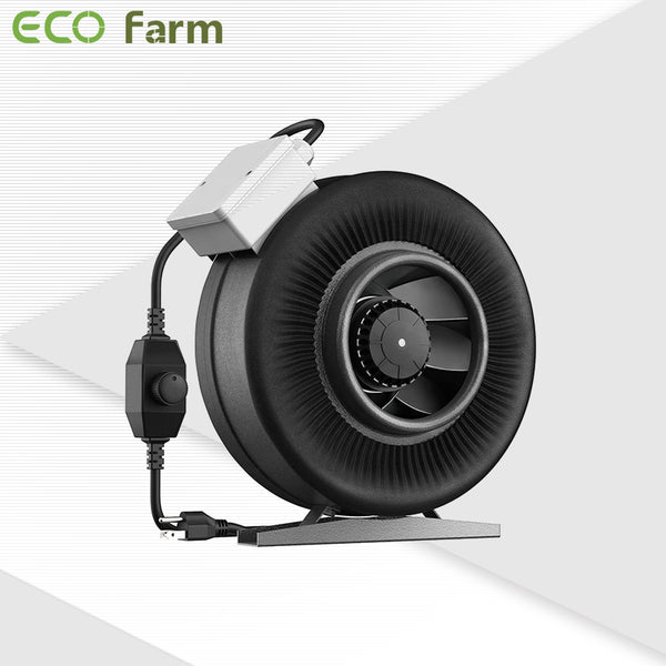 Eco Farm Hot Air Inline Fan Duct Fan with Speed Controller