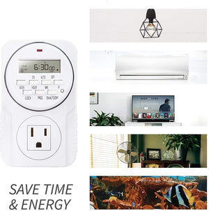 ECO Farm Smart Digital Programmable Outlet Timer
