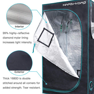 "Mars Hydro 39"" x 39"" x 70""  Indoor Plants Grow Tent"