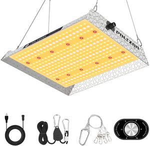Phlizon Upgrading 1000W Dimmable Full Spectrum LED Grow Light