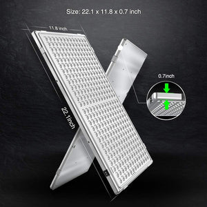 Relassy 300W LED Grow Light Panel for Indoor Plants Veg and Flower
