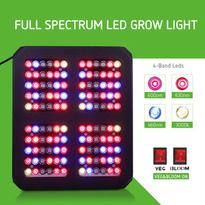 VIVOSUN 600W Led Grow Light Full Spectrum