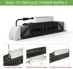 Phlizon Linear Series 1000W SMD LED Plant Grow Light