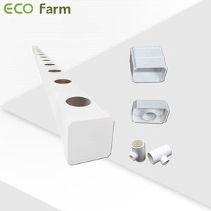 ECO Farm Indoor hydroponics growing system NFT channel