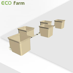 ECO Farm Food-Grade Material Hydroponic Dutch Bucket-growpackage.com