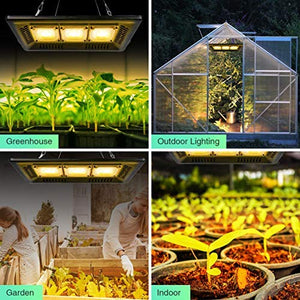 ECO Farm 150W Waterproof COB Supplemental LED Grow Light