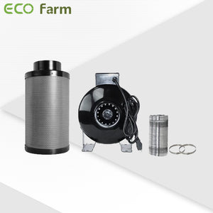 ECO Farm 3.3'x3.3' Essential Grow Tent Kit - 240W 301H Quantum Board