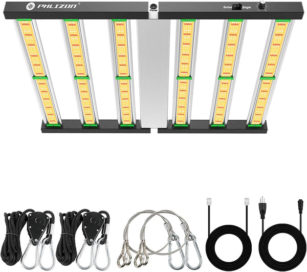 Phlizon 2021 Latest FD4000 Plant Led Grow Light 5x5ft Coverage