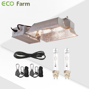 Eco Farm CMH 630W Double Ended Grow Light Fixture  Enclosed Kit