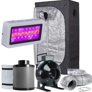 TopoLite 36X20X63 Led Grow Tent Kit