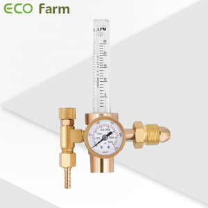 ECO Farm CO2 Gas Regulator Pressure Reducer Flow Gauge-growpackage.com