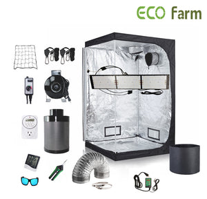 ECO Farm 4*2FT(48*24*60inch)DIY Grow Package