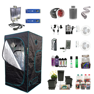 4' X 4' HID Hydroponic Complete Indoor Grow Tent Kits for 4 Plants