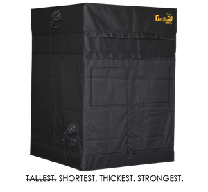 Gorilla 4ft x 4ft x 4ft11inch Plants Grow Tents Shorty Series