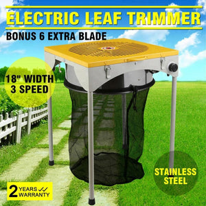 Hydroponics Garden 18inch Table Automatic Trimmer Machine Leaf Bud Trimmer