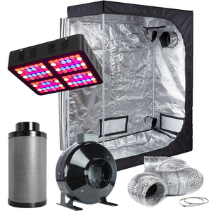 TopoLite 48X24X60 Led Grow Tent Kit