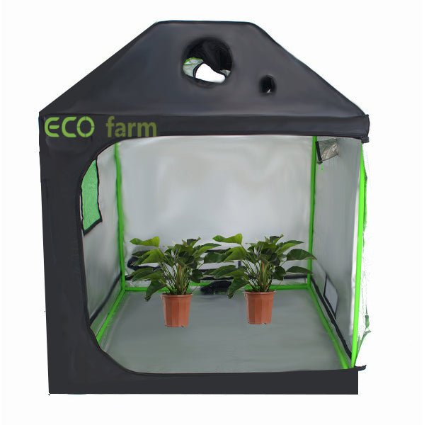 ECO Farm 5*5FT(60*60*72inch) Grow Tents - Roof Style-growpackage.com
