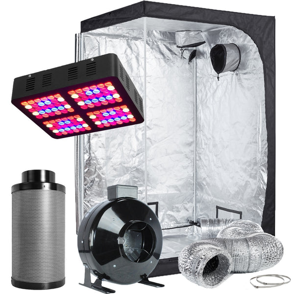 TopoLite 48X48X80 Led Grow Tent Kit