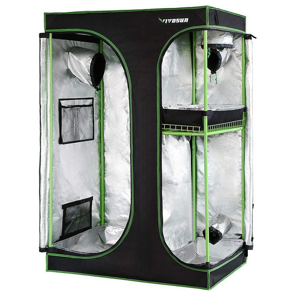 VIVOSUN 2 in 1 Indoor Grow Tent