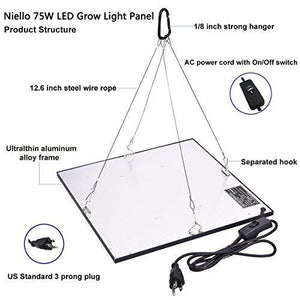 Niello 45W LED Grow Light UFO