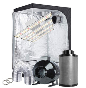 TopoGrow 48X48X80 LED Grow Tent Kits