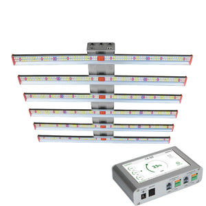 ECO Farm ECOZ 250W/510W/700W Samsung 301H Chips LED Grow Light With Separately UV+IR Control