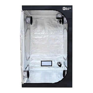 Black Box 4ft x 4ft x 6.5ft Grow Tent For Growing Plants Indoors