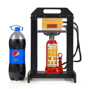 Hydraulic jack rosin press bottle jack heat press