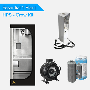 Essential 1 Plant Grow Kits - HPS Grow Lights