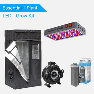 Essential 1 Plant Grow Kits - LED Grow Lights