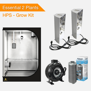 Essential 2 Plants Grow kit - HPS-growpackage.com