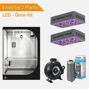 Essential 2 Plants Grow Kits - LED Grow Lights