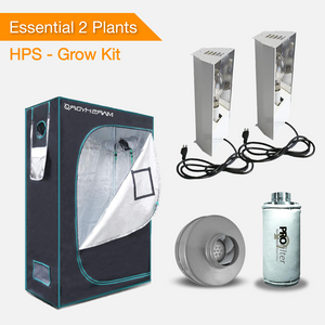 Essential 2 Plants Grow kit - HPS