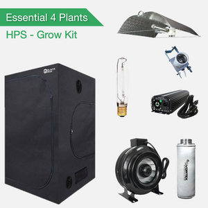 Essential 4 Plants Grow Kit - HPS