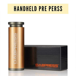 Handheld Pre Press Mold ( Flower Puck ) - Bottle Tech Styled Cylinder Mold Works Well with 2x4 Filters | Dabpress