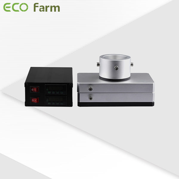 Eco Farm Rosin Press Plate Kits with 4 Pcs Rod Heaters