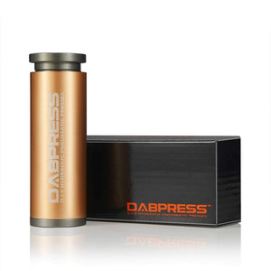 Dabpress iBudtek dp-pm3015r Cylinder Pre-press Mold  Made of Anodized Aluminum - Dabpress