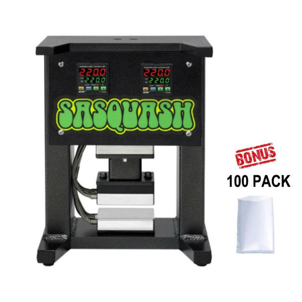 Sasquash Half Squash 5 Ton Rosin Press with Hand Pump  - Growpackage.com