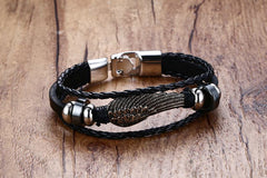 black stone wings men 's hand rope