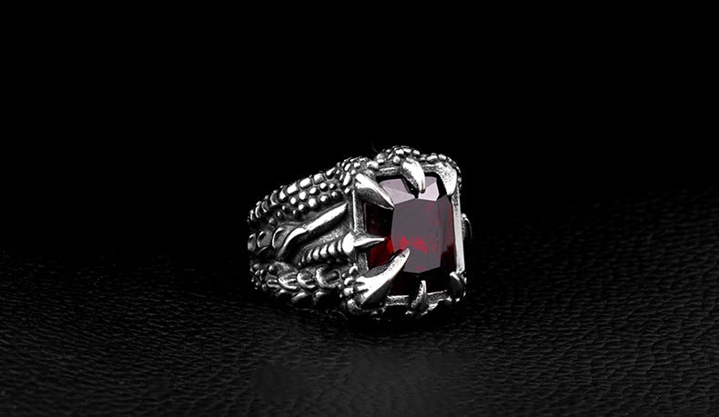 Warrior Retro Stainless Steel Men's Rings - Jewelry & Accessories - RealUSAShop