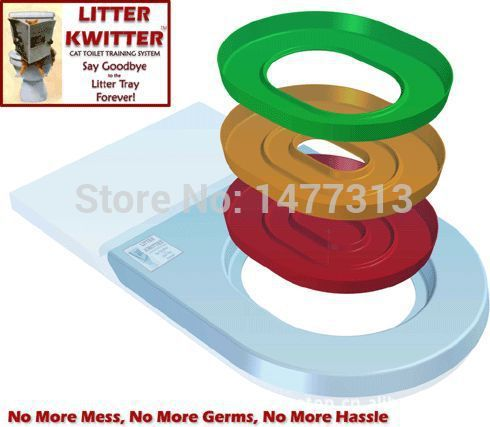Litter Kwitter Cat Toilet Trainer - Pets Supplies - RealUSAShop