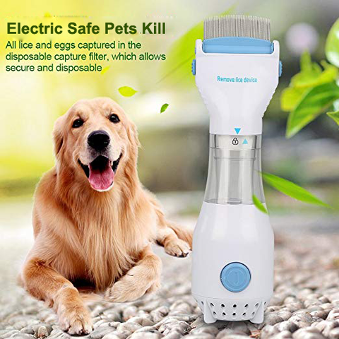 Electric Flea Comb Keeps Your Pets Happy - Pets Supplies - RealUSAShop