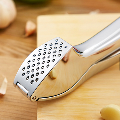 New Garlic Juicer Press Squeezer Stainless Steel Tool - Kitchen Tools & Gadgets - RealUSAShop
