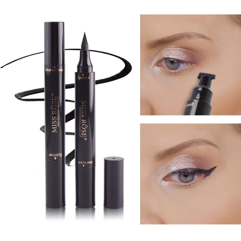2 in 1 Liquid Eyeliner with Wing Stamp - Beauty & Personal Care - RealUSAShop