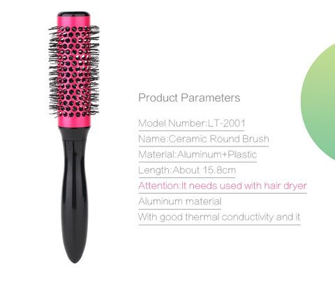 Curl Round Styling Brush Tool Set - Beauty & Personal Care - RealUSAShop